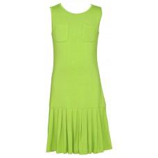 Pocket Sleeveless Ponte Dress