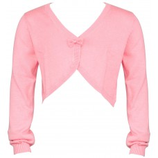 Cropped Bow Cardigan