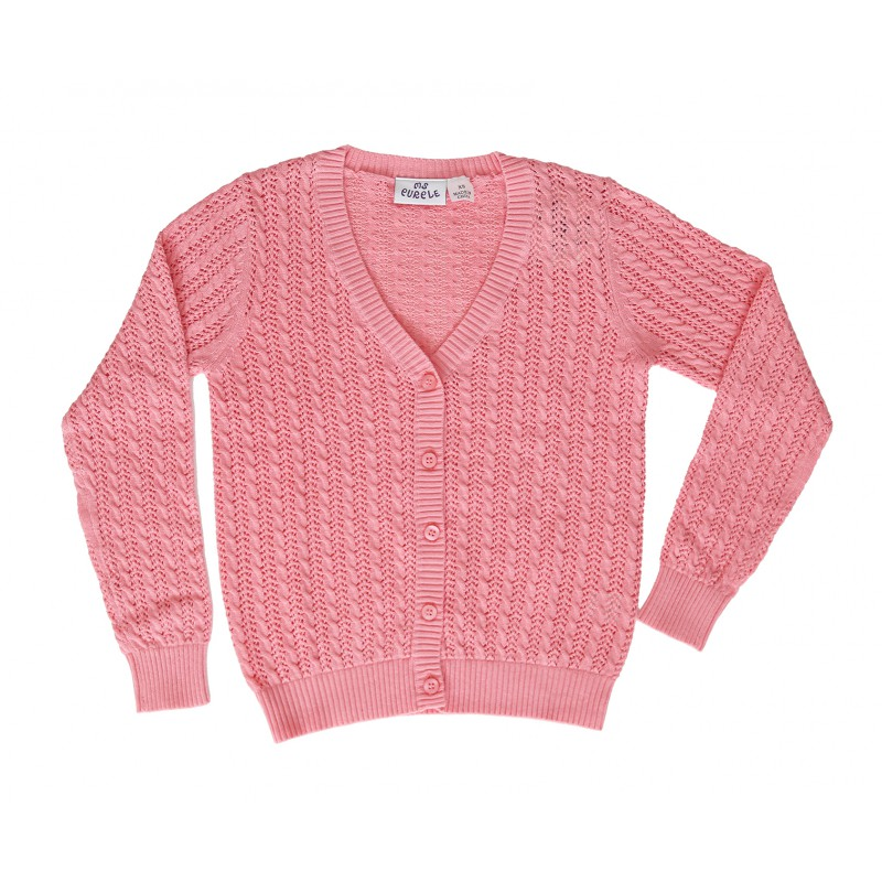 Cable Open Stitch Cardigan