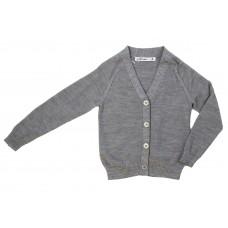 Girl's Wool V Neck Cardigan
