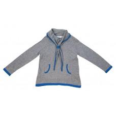 Girls' 100% Cotton Sailor Pullover Sweater